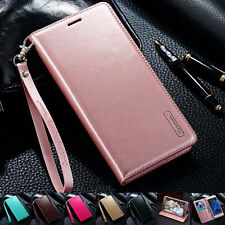 Luxury PU Leather Wallet Card Flip Case Cover For Pouch Samsung Galaxy/iPhone M