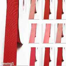 "grosgrain ribbon 7/8""/ 22mm. wholesale 100 yards, rose to red s color thin"