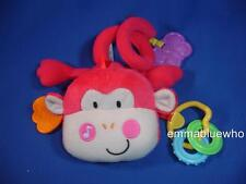 Fisher Price Discover N Grow Stroller Monkey Activity Toy Musical Plush ~ SWEET!