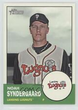 2012 Topps Heritage Minor League Edition #170 Noah Syndergaard Lansing Lugnuts
