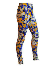 Womens Yellow Abstract Jeggings High Rise Womens Skinny Jeans Leggings NEW