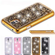 Luxury Bling Glitter Diamond Hard PC Back Case Cover For iPhone Samsung Galaxy K