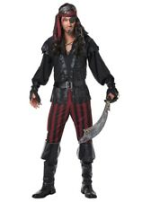 Ruthless Rogue Caribbean Pirate Halloween Costume Adult Men's Sizes