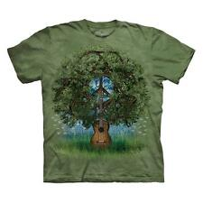 GUITAR TREE ADULT T-SHIRT THE MOUNTAIN