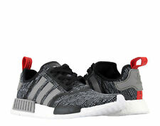 Adidas NMD_R1 Black/Grey Heather/Red Men's Running Shoes BB2884