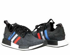 Adidas NMD_R1 PK Primeknit Tri Color Black/White Men's Running Shoes BB2887