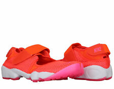 Nike Air Rift Breathe Total Crimson/Pink-White Women's Running Shoes 848386-800
