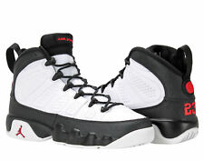 Nike Air Jordan 9 Retro BG White/Red-Black Big Kids Basketball Shoes 302359-112