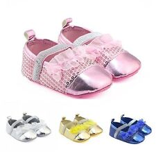 Lovely Infant Baby Kids PU Soft Sole Shoes Boy Girl Princess Shoes Prewalkers