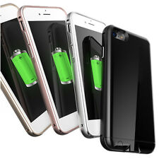 External Power Bank Pack Backup Battery Charger Cover Case For iPhone 7 4.7""