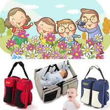 3 in1 Baby Foldable Infant Travel Bag Bed Crib Portable Diaper Bassinet Changing