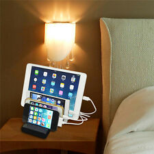 4-Port USB hub Charging Dock Station Charger Stand organizer -Tablet/iPAD/iPhone