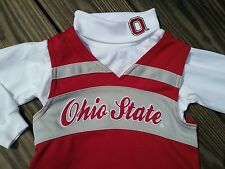 New w/ Tags Ohio State Buckeyes Toddler girls OSU football Cheerleader Outfit