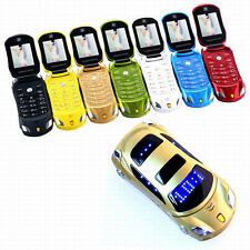 F15 MP3 FM flashlight dual sim cards cellphone car model cell mini mobile phone