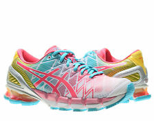 Asics Gel-Kinsei 5 White/Teaberry/Yellow Women's Running Shoes T3E9Y-0122