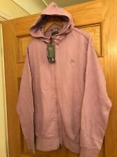 MAHARISHI MHI MENS PINK SMOG HOODY WITH MHI STAMP SIZE MEDIUM!!