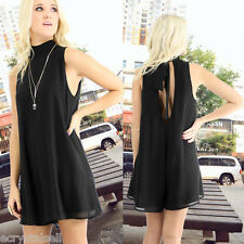 Sexy Womens Playsuit Rompers Overalls Casual Clubwear Sleeveless Halter Jumpsuit