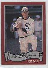 1988 Pacific Eight Men Out #10 Charlie Sheen Chicago White Sox Baseball Card