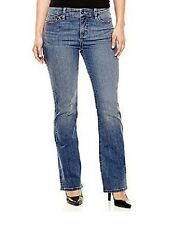 St Johns Bay Womens Jeans Secretly Slender Bootcut Mid Rise size 16 NEW