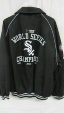 Chicago White Sox Mens 2XL - 6XL 3 Time Champions Button Up Wool Jacket CWS 4