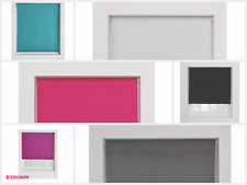 ColourMatch Blackout Thermal Roller Blind - 5ft - Teal/White/Fuchsia/Black/Grey