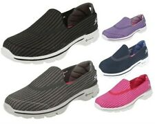 Skechers Ladies Slip On Go Walk 3 GoGa Mat slip on Shoes - 13980