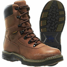 "Wolverine Work Boots Men Marauder MultiShox Contour Welt Waterproof 8"" Steel-Toe"