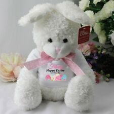 Personalised Easter Bunny Rabbit - White - Easter Treat / Gift
