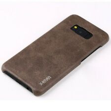 Luxury Vintage Leather Case Slim Back Cover Skin For Samsung Galaxy iPhone LG R