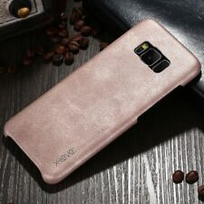 Luxury Vintage Leather Case Slim Back Cover Skin For Samsung Galaxy iPhone LG M