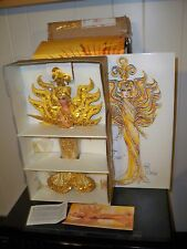 Bob Mackie Goddess of the Sun Barbie Doll NRFB with shipper box Mattel & sketch