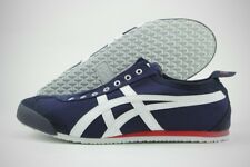 Asics Onitsuka Tiger Mexico 66 Slip-On D3K0N-5099 Navy Canvas Shoes (D, M) Men
