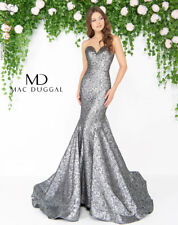 Mac Duggal 66025D Long Evening Dress ~LOWEST PRICE GUARANTEE~ NEW Authentic Gown