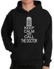 KEEP CALM AND CALL THE DOCTOR Hoodie Who Cult TV Series Funny cool humor new
