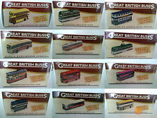 Atlas Editions Great British Buses - Choice Of 13 New/Sealed Models