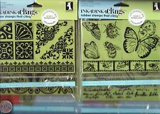 inkadinkado ~ stamping gear ~ rubber stamps that cling ~ new