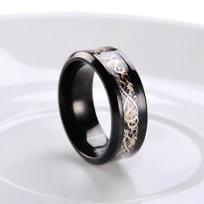 Cool Celtic Dragon Tungsten Carbide Ring Mens Jewelry Stainless Steel SZ7-9/US