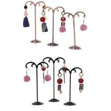 3Pcs Display Tree Holder Earring Jewelry Storage Hanger Stand Shop Show Rack
