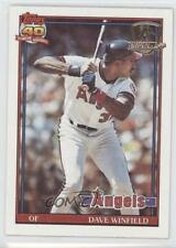 1991 Topps Operation Desert Shield #630 Dave Winfield Los Angeles Angels Card