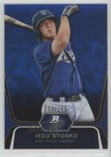 2012 Bowman Platinum Prospects Blue Refractor BPP15 Jedd Gyorko San Diego Padres