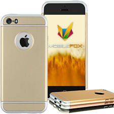 3 Teile Ultra Slim Protective Case Hard Back Cover Bumper Apple iPhone
