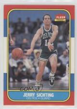 1986-87 Fleer #101 Jerry Sichting Boston Celtics RC Rookie Basketball Card