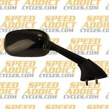 Emgo Replacement Right Side Mirror 20-37443 Carbon Fits 07-08 Yamaha YZF-R1