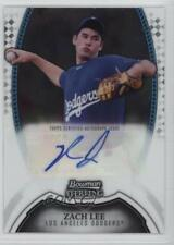 2011 Bowman Sterling MLB Future Stars Autographs #BSP-ZL Zach Lee Auto Card