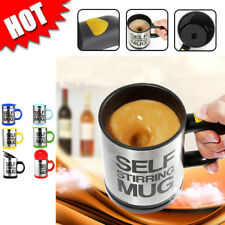 New Mixing Coffe Tea Soup Cup Auto Self Stirring Mug Plain Lazy Cup Kitchen Gift