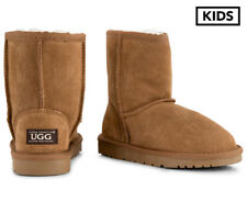 OZWEAR Connection Kids' Water Resistant Ugg Boots - Chestnut