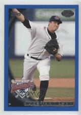 2010 Topps Pro Debut Blue #414 Jake Thompson Hudson Valley Renegades Rookie Card