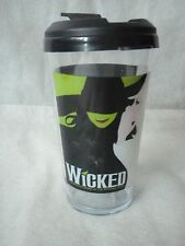 Wicked Broadway Musical Travel Cup with lid
