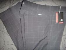 NIKE TIGER WOODS COLLECTION GOLF PLAID PANTS 34 W X 32 L MEN NWT $$$$