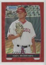2012 Bowman Chrome Prospects Redemption Refractor Red Wave #BCP31 Nick Maronde